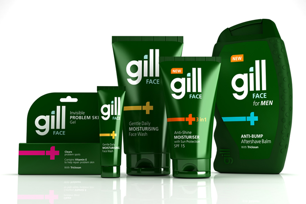 gill 3d packaging